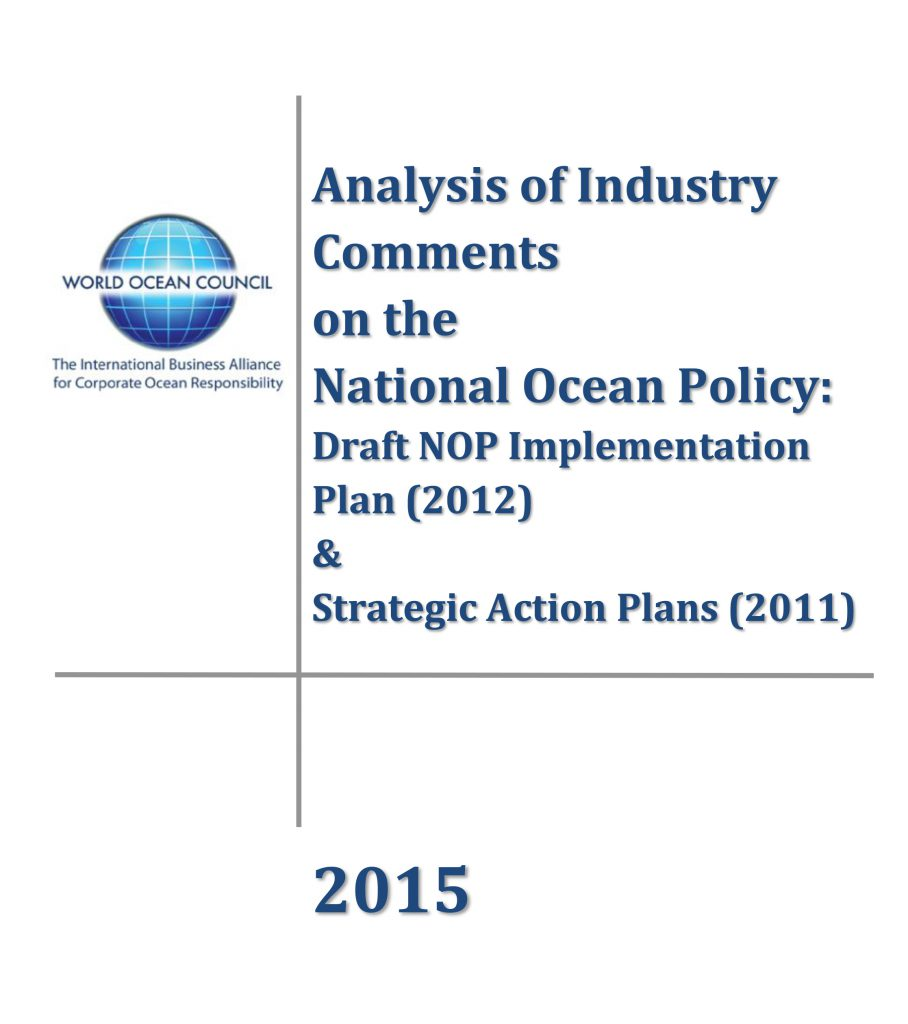 WOC_Summary of Industry Comments to NOP (June 2015)-1